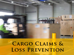Cargo claims vertical banner