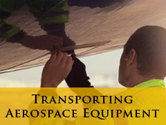 COMING SOON! Transporting Aerospace Equipment banner